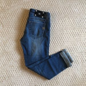 Miss Me Jeans Mid Rise Skinny Size 28 NEW